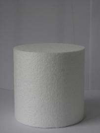Styropor  ⌀ 10 cm en 10 cm hoog