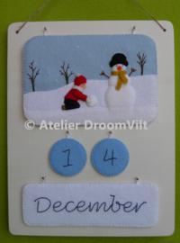 Viltpakket 'Basispakket jaarkalender'