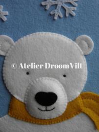 Viltpakket 'Hanger Ivo de ijsbeer'