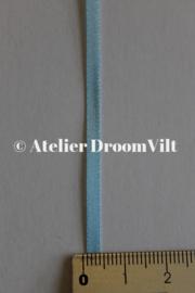 Dubbelzijdig satijnlint 4 mm lichtblauw (per meter)