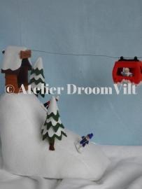 Viltpakket 'Sneeuwhelling met kabelbaan'