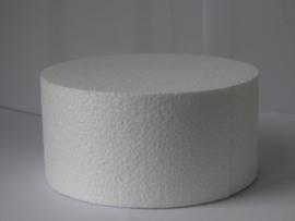 Styropor  ⌀ 15 cm en 7 cm hoog