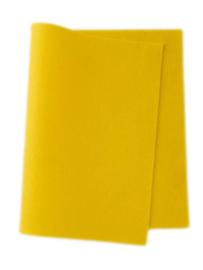Wolvilt geel 20 x 180 cm