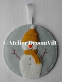 Viltpakket 'Een sneeuwpopje'