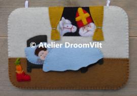 Patroonblad 'Seizoensbordje Sinterklaas'