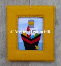 Viltpakket 'Een schilderijtje met Sinterklaas'