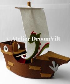 Patroonblad 'Schip Ahoy!'