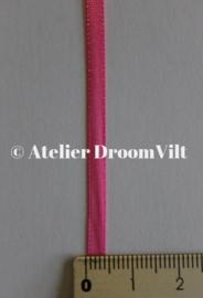Dubbelzijdig satijnlint 4 mm roze (per meter)