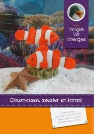 Viltpakket 'Clownvissen, zeester en koraal'
