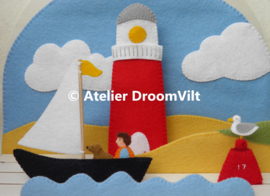 Viltpakket 'Seizoenstafereel: zomer' (excl. houten seizoenstafel)