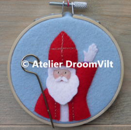 Viltpakket 'Borduurring Sinterklaas'
