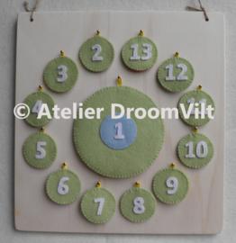 Viltpakket 'Aftelkalender verjaardag'