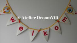 Viltpakket 'Vlag Welkom Sinterklaas' TIJDELIJK NIET LEVERBAAR