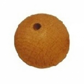 Houten kralen ⌀ 6 mm blank 10 stuks