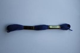 Venus borduurgaren blauw