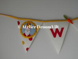 Viltpakket 'Vlag Welkom Sinterklaas'