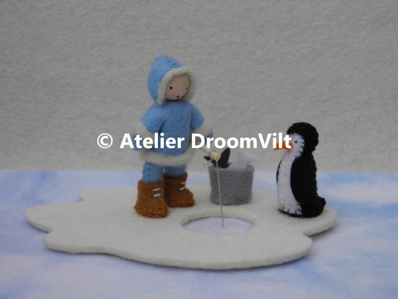 Viltpakket 'Een Eskimo gaat vissen'