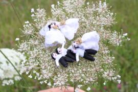 Gelukspop Bruidspaar