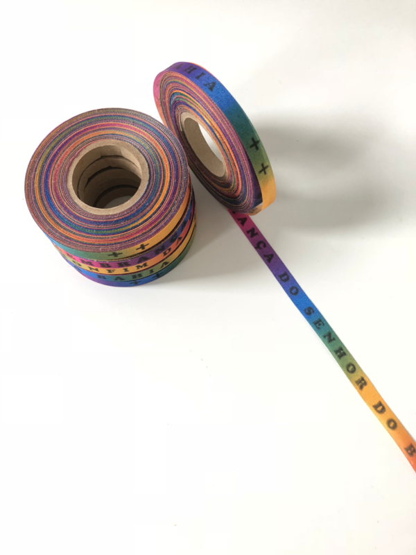 Beste prijs! Rainbow Bonfim lintjes/ rol.