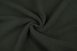 Wafelkatoen kleur Army  art WF055