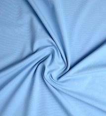 Cotton Jersey  lichtblauw  Art 012 - 40 cm voor