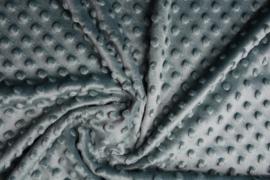 Minky dot  oud groen   Art Kl-134 - 20 cm voor