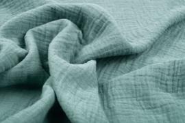 Hydrofiel doek 100% cotton  oud groen   Art 0186-058