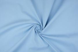 Katoen uni  kleur lichtblauw  Art 5580- 4