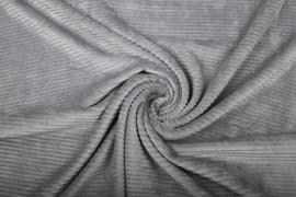 Jersey  corduroy  Grijs/ taupe Art CD74   -40 cm voor