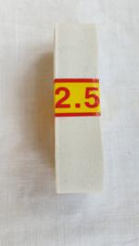 Bosje elastiek wit 2,5 mtr lang € 2,00 aanbieding