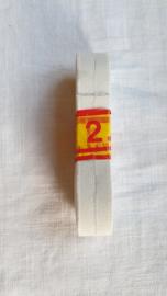 Knoopsgaten elastiek wit 2,5 mtr lang