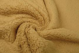 Teddy stof oker  Art 082 - 50 cm voor