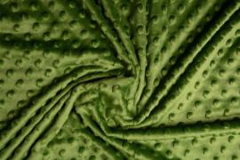 Minky dot  Apple-green   Art KC4008-544