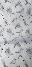 Nieuw 100% katoen  Birds   Art VH08060-022