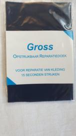 Reparatie doek donkerblauw