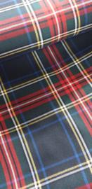 Schotse ruit  heel mooi Art Nw031  € 12 ,- p/m   - 40 cm voor