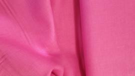 Gewassen 100% Linnen kleur roze