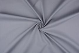 Katoen uni kleur grijs     Art 3121- 17