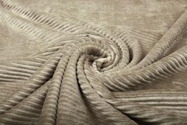 Jersey  corduroy   Beige     Art CD57 -40 cm voor