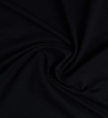 French Terry tricot stoffen zwart
