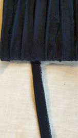 Paspel band katoen donkerblauw € 0,50 p/m