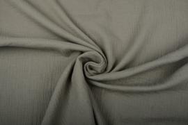 Hydrofiel doek 100% cotton  army groen   Art 0186-055