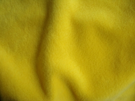 Polar fleece kleur geel   € 5,00 per meter Art FB560