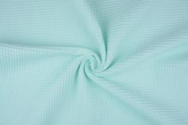 Wafelkatoen kleur mintgroen  art WF89