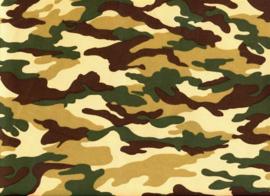 Army Legerstof     Art army 007 € 6,00 per meter - 30 cm voor