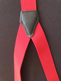 Bretels kleur rood  aanbieding