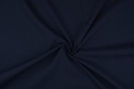 Katoen uni  kleur donkerblauw Art 5580-8