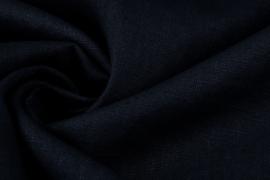 Gewassen 100% Linnen kleur donkerblauw