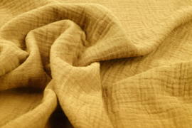 Hydrofiel doek 100% cotton  oker geel  Art 0186-082