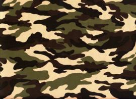 Army Legerstof  Art army 009 € 6,00 per meter - 30 cm voor